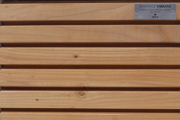 bardage vibrato piveteau bois. Black Bedroom Furniture Sets. Home Design Ideas